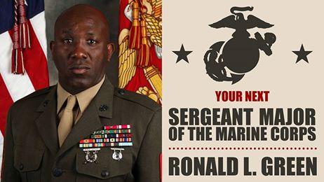 Sgt Maj Green